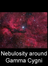 Nebulosity around Gamma Cygni