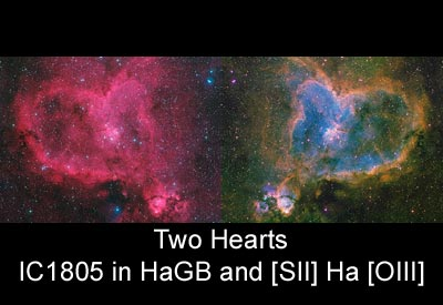 Two Hearts: IC1805