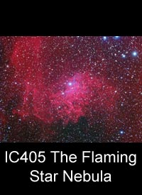 The Flaming Star Nebula (IC405)