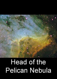 Head of the Pelican Nebula