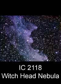 The Wtich Head Nebula (IC2118)