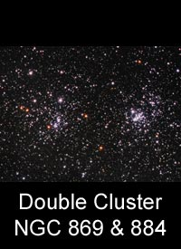 The Double Cluster, NGC 869 & 884