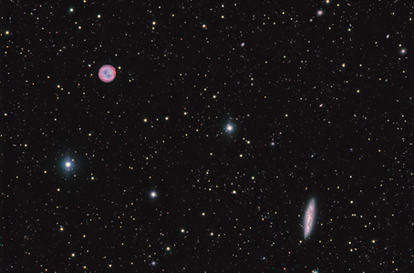 The Owl Nebula (M97) & M108